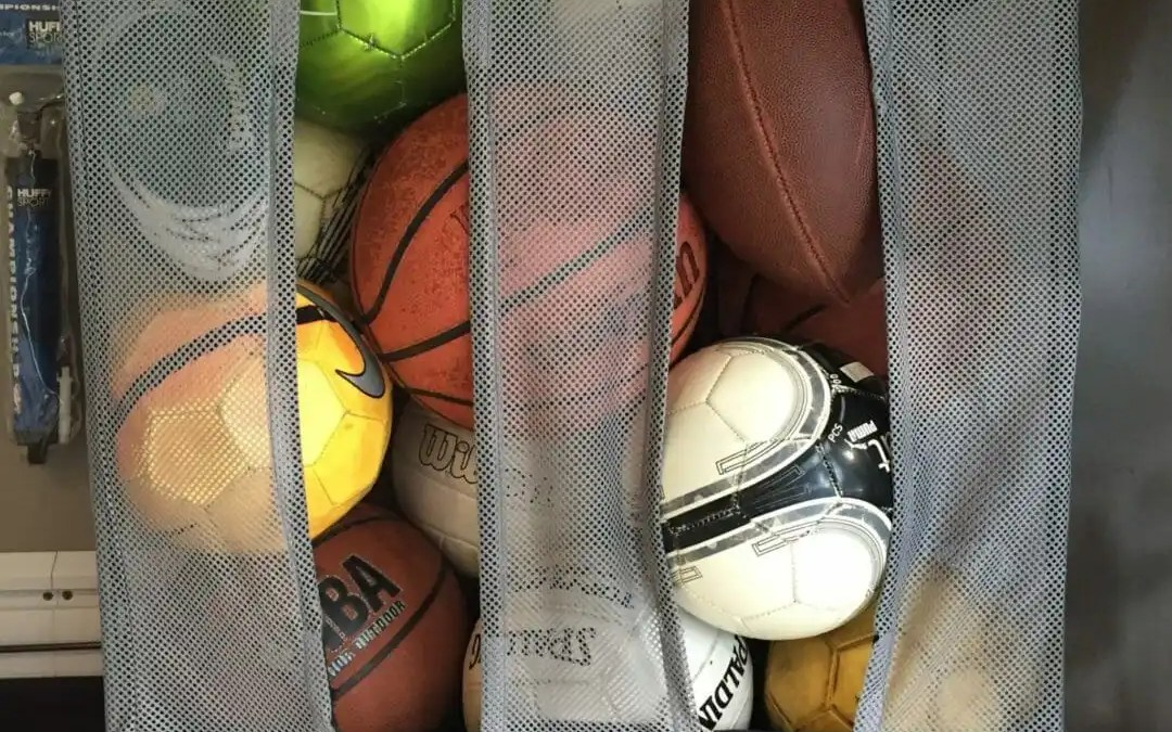 Kids Sports Equipment  –  A Garage Organization Solution
