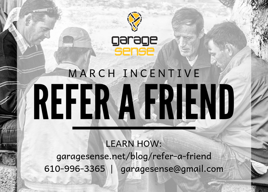 Refer a Friend and Support a Small Business