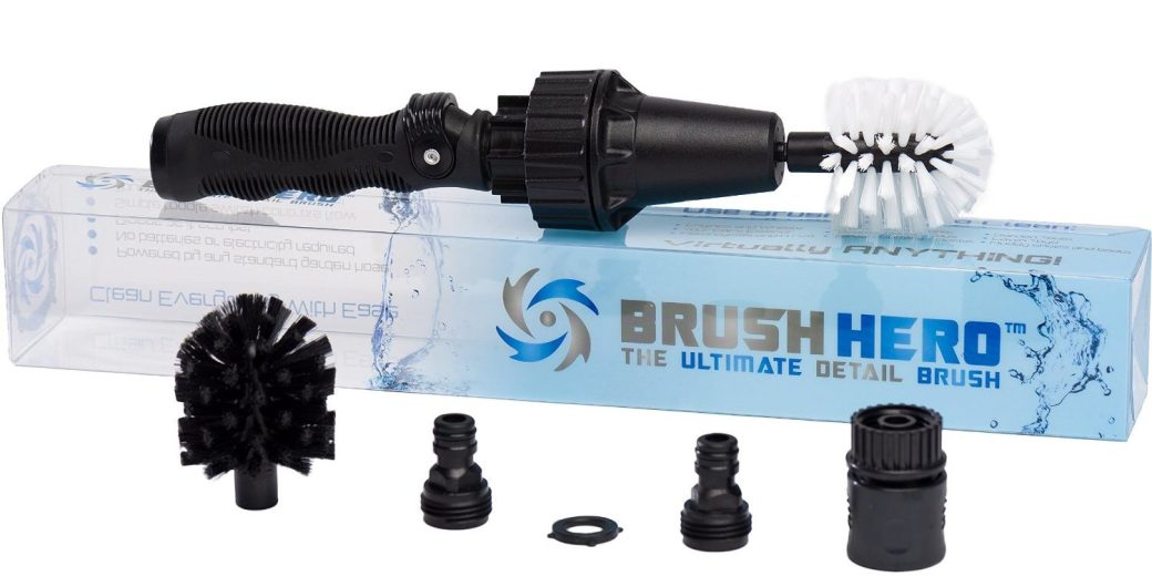 Brush Hero: The Ultimate Water-Powered Detail Brush