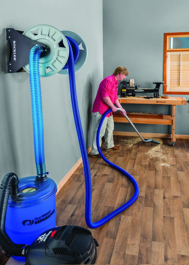 the reel isnu0027t cheap but does seem like a solid solution to get a central garage shop vac system very quickly