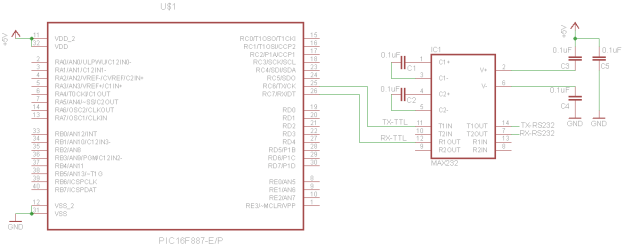 PIC-Talks-UART-RS232