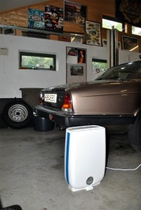 where to place garage dehumidifier