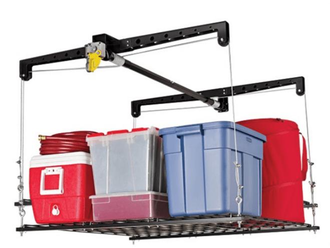 Garage Ceiling Storage Rack Lift