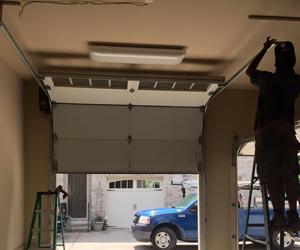 Single car garage door installed starting $479