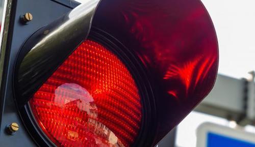 a-red-light