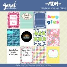GARAL-MOM- JOURNAL CARDS 12