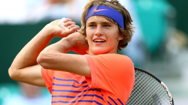 Germany's Alexander Zverev is one of the very few players who can claim to have beaten Novak Djokovic at the tender age of 18 although the win came in an exhibition tournament (Photo Courtesy skysports.com)