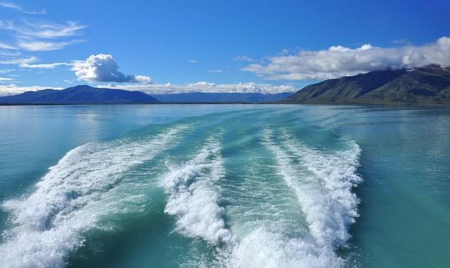 Boat water trail