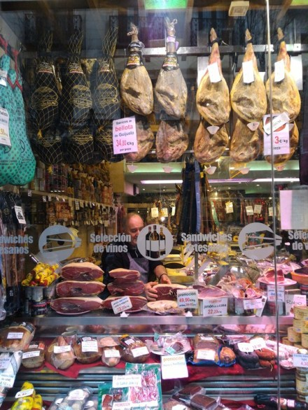 Jamon Iberico shop