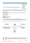 DNV-GL EC Type Examination Certificate