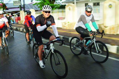 Danrem-032-Bersepeda-Bersama-Kapolda