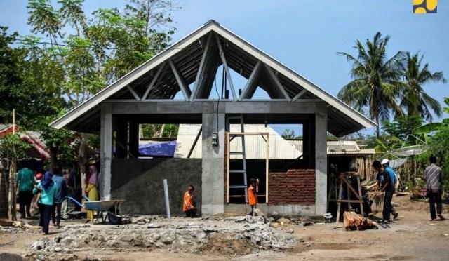Pasca Gempa NTB; Rehabilitasi & Rekonstruksi Rumah Warga & Fasilitas Publik Terus Berjalan