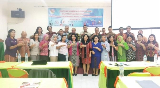 DP3A NTT Helat Pelatihan SDM Bagi Penanganan Korban Kekerasan & TPPO