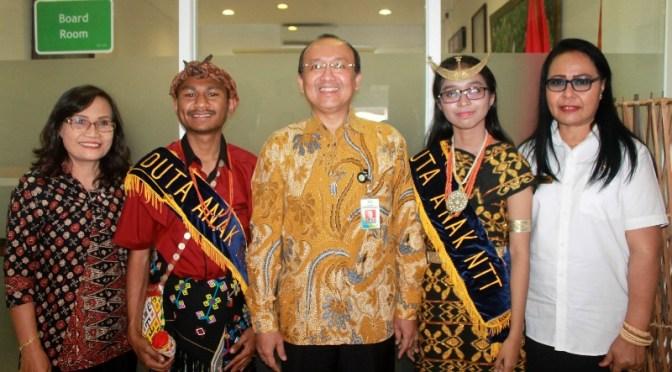Anak TTS & Kota Kupang Duta NTT di Forum Anak Nasional 2019