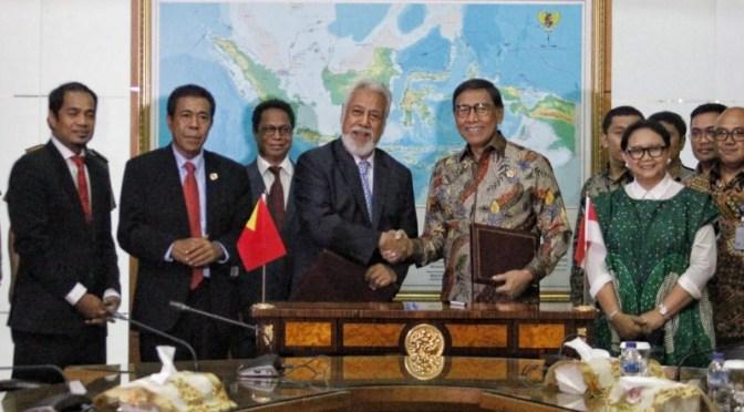 RI – Timor Leste Sepakat Selesaikan Batas Darat 'Two Unresolved Segment'