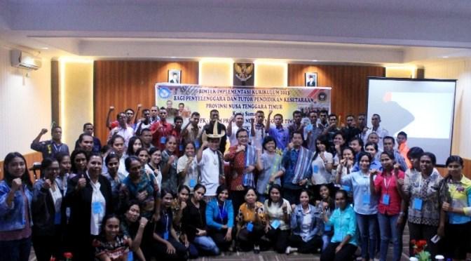 Bimtek Kurikulum 2013 bagi Penyelenggara & Tutor Pendidikan Kesetaraan di NTT