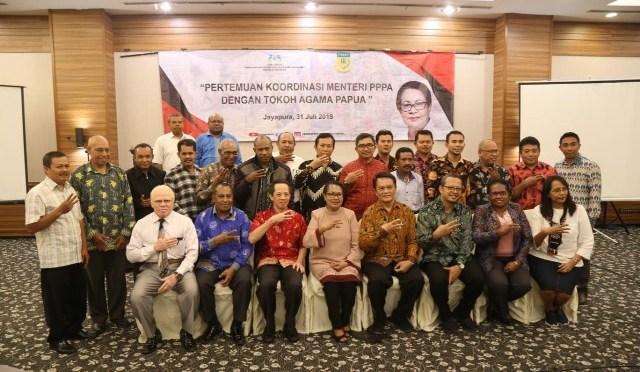 Menteri PPPA Kumpulkan Tokoh Agama Papua Bahas Isu Perempuan dan Anak