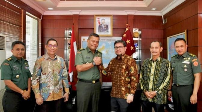 Audiens ke Mabes TNI, Kepala Staf Umum TNI Apresiasi IMO-Indonesia