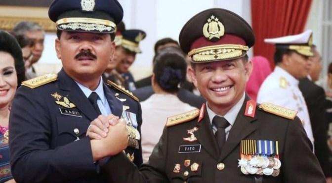 Panglima TNI & Kapolri Berkantor di Papua Selama Seminggu