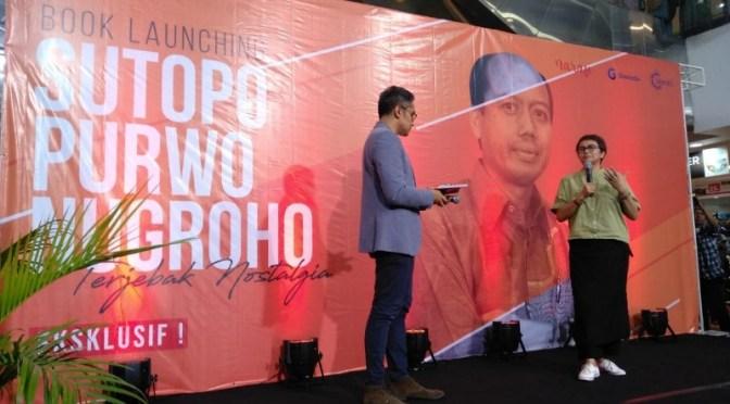 Peluncuran Buku Sutopo Purwo Nugroho: Contoh Baik Seorang Pejabat Publik