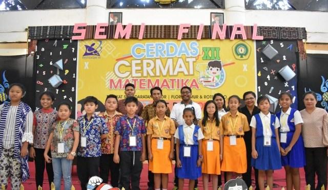SD GMIT Soe I Versus SDK Hosana Kupang Pada Babak Grand Final CCM Ke-12