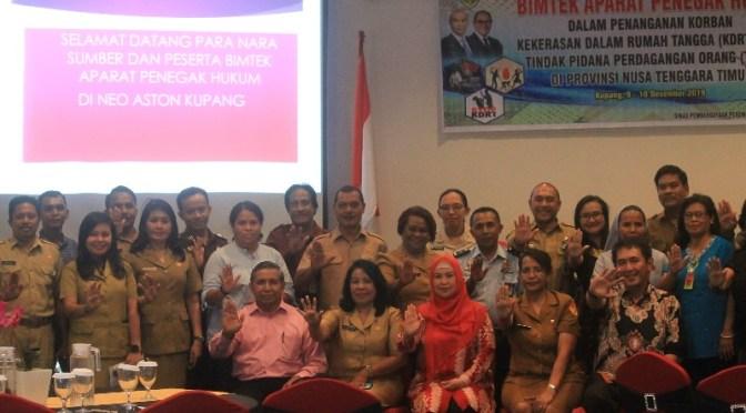 Bimtek APH : Negara Harus Hadir dalam Penanganan Korban KDRT & TPPO