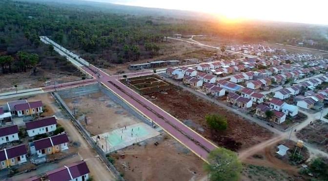 Salib Raksasa di Oetalu Kabupaten Kupang Raih Rekor MURI