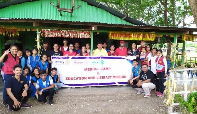 Rotary Kupang Central Konsisten Lakukan Bakti Sosial di Kabupaten Kupang
