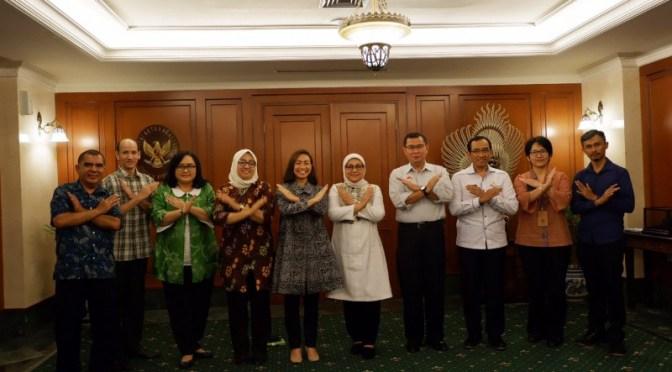 Sinergisitas Kemnaker & JarNas Anti TPPO Akhiri Perdagangan Orang di Indonesia