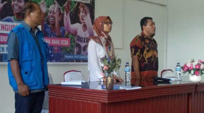 Plan Internasional Latih 138 Pengurus KP2AD Kabupaten Nagekeo