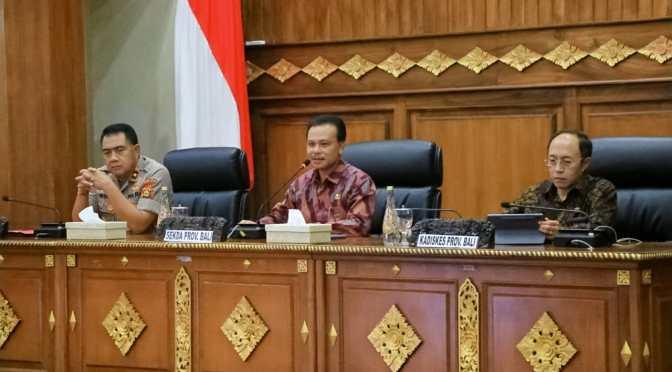 Lima Poin Rakor Satgas Penanggulangan 'Corona Virus Desease' di Provinsi Bali