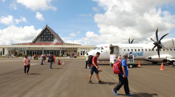 Penerbangan Zona Merah Dilarang, Lokal NTT Tetap Beroperasi