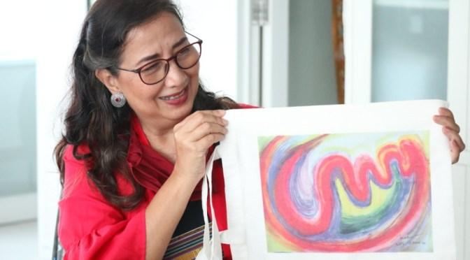 Penggalan Kisah Maria Taklukan Corona, Seni dan Ekspresi Jadi Kunci Utama