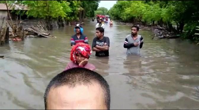 Banjir di Sumba Timur Hanyutkan Dua Rumah, 230 Jiwa Mengungsi