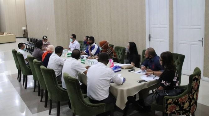 Sokong Gerakan Kupang Hijau, Wali Kota Kupang & Plt Dirut Bank NTT Helat Rapat