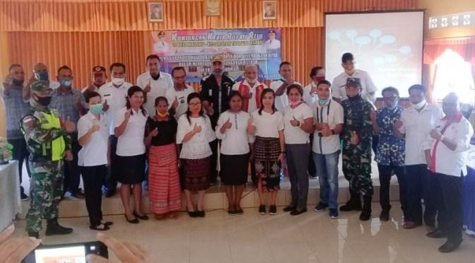 Wakil Bupati Belu Sebut Desa Naitimu Sebagai 'Good Governance'