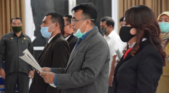 Lantik Direksi PD Pasar, Wali Kota Kupang Minta Rancang Terobosan Kreatif