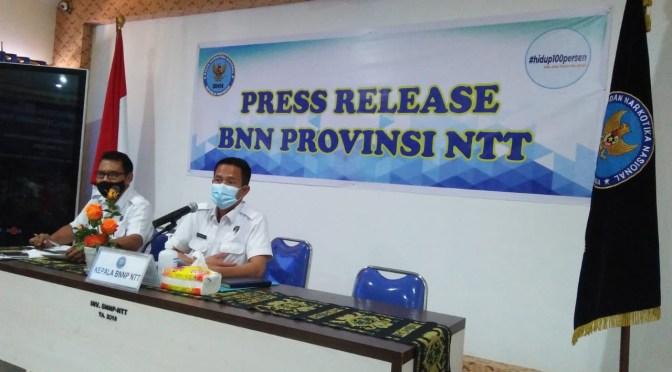 """Instrumen ASSIST & Rapid Test"" Dipakai BNNP NTT Untuk 27 Paslon Pilkada 2020"