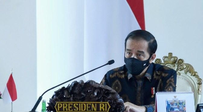 Realisasi APBD 48,8%, Presiden Jokowi Pinta Percepat Realisasi Belanja Daerah