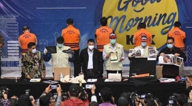 KPK Tangkap 17 Orang Dugaan Korupsi Janji oleh Penyelenggara Negara