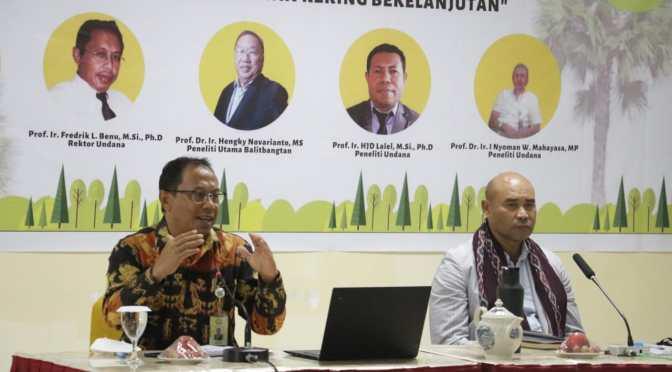 Gubernur VBL : Pertanian Lahan Kering di NTT Harus Membantu Pembangunan