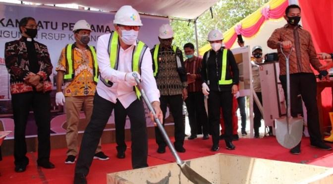 RSUP di Kota Kupang Mulai Dibangun, Jadi Kebanggaan Masyarakat NTT