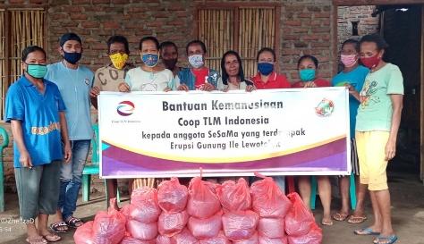 Coop TLM Indonesia Berbagi Kasih di Tengah Pandemi 2020