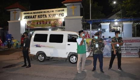 Pantau Ibadah Malam Natal, Wakil Wali Kota Kupang : Terima Kasih