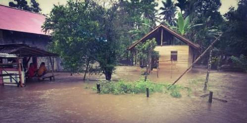 Jembatan Putus dan 809 Rumah Terendam Akibat Banjir di Halmahera Utara