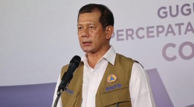 Usai Perjalanan ke Mamuju, Ketua Satgas Doni Monardo Positif Covid-19