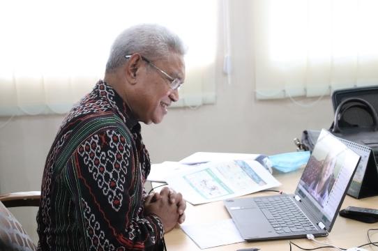 Forum Anak Kota Kupang, dr. Herman Man: Anak Corong Protokol Kesehatan