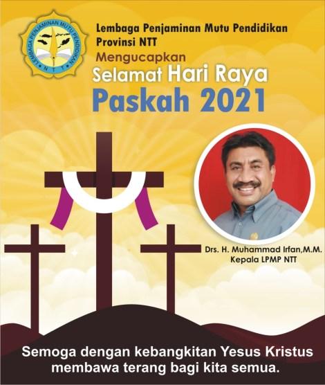 Selamat Paskah 2021 -- LPMP Provinsi NTT