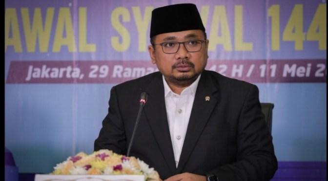 Idulfitri di Tengah Pandemi, Menteri Agama Ajak Terapkan Protokol Kesehatan