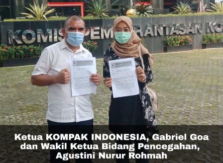 KOMPAK Indonesia Desak KPK Periksa & Tetapkan Azis Syamsudin Jadi Tersangka